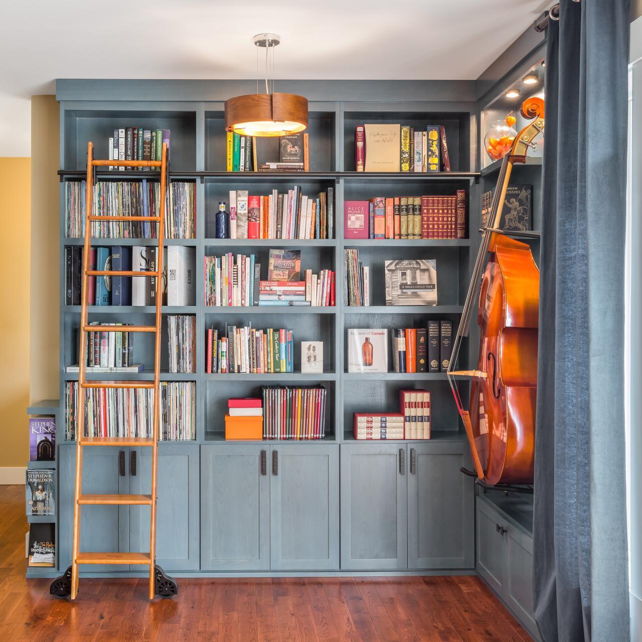 10 idee di design per arredare studio di casa for Arredare libreria
