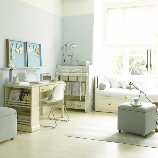 10 idee di design per arredare studio di casa for Letto per gli ospiti