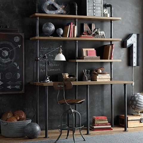 10 idee di design per arredare studio di casa - Arredare studio ikea ...