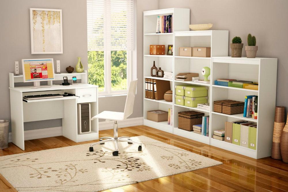 Un Piccolo Ufficio In Casa : Idee di design per arredare studio di casa sediadaufficio