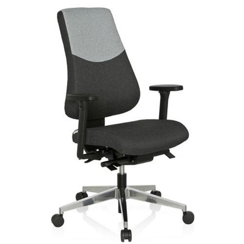 Sedie da ufficio ergonomiche - BEIRUT iimbottita,, in tessuto, bicolore