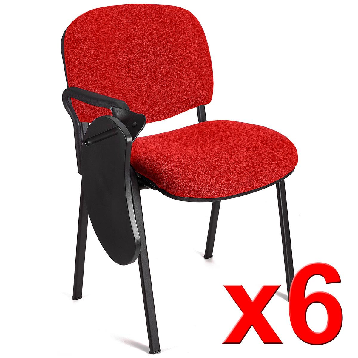 Lotto di 6 Sedie per Sala Conferenze MOBY con SCRITTOIO ...