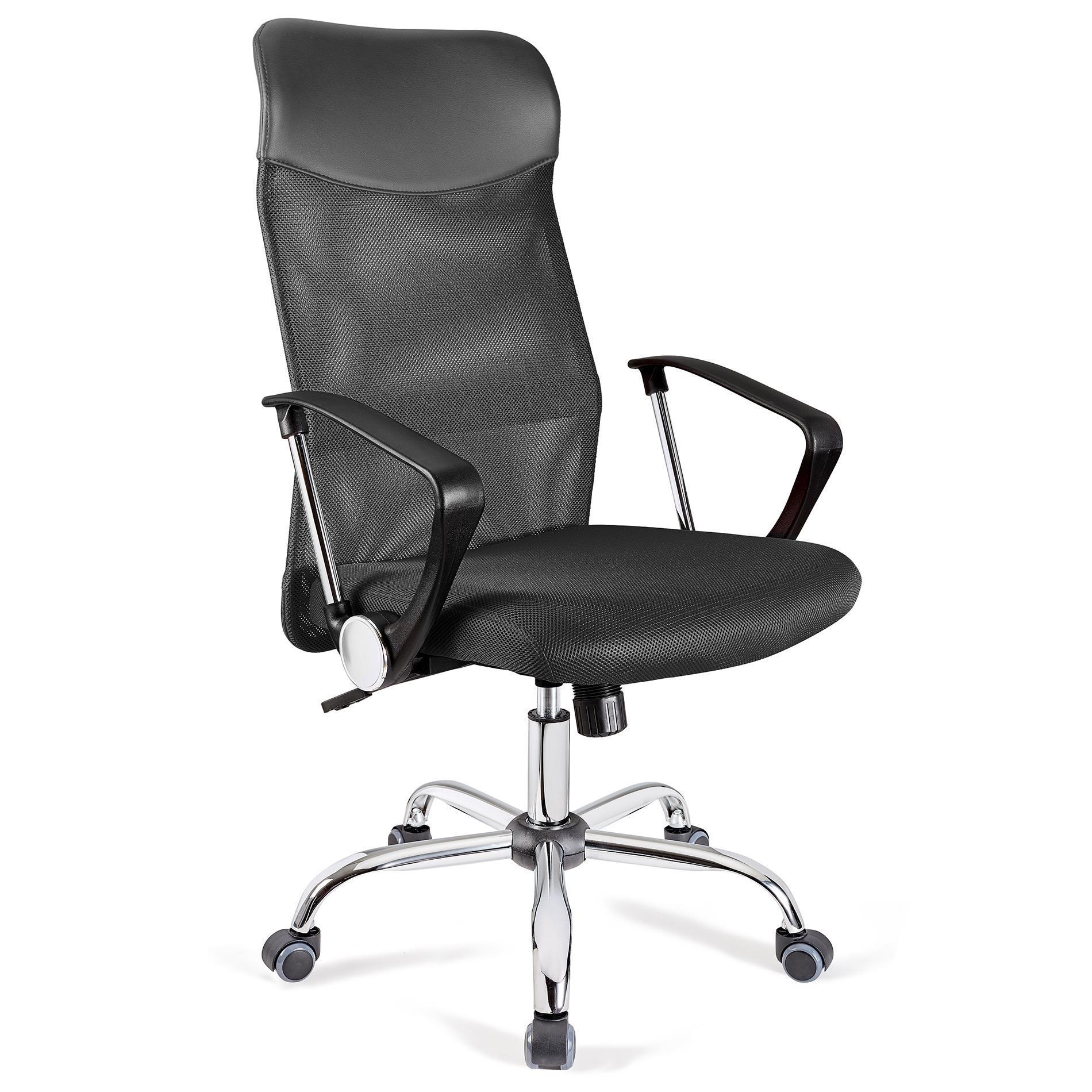 Sedia ufficio aspen rete traspirante e sedile imbottito for Sedia ufficio alta