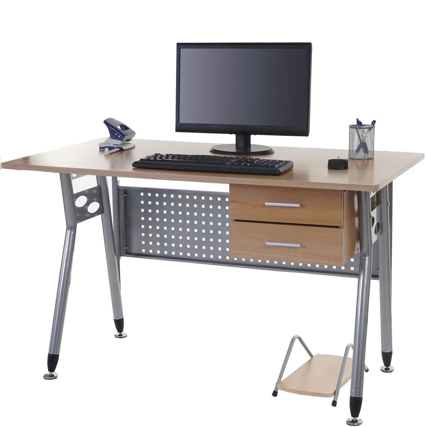 Scrivania per computer caribe struttura in metallo for Scrivania per pc