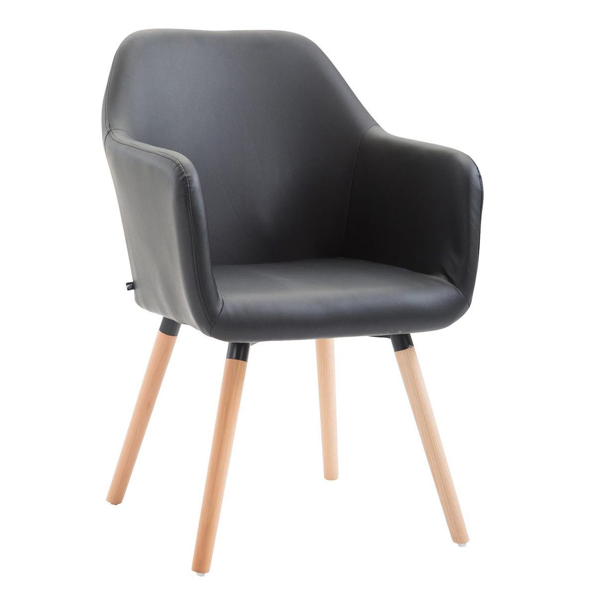 Sedia per sala d 39 attesa niebla pelle design sofisticato for Sedia design comoda