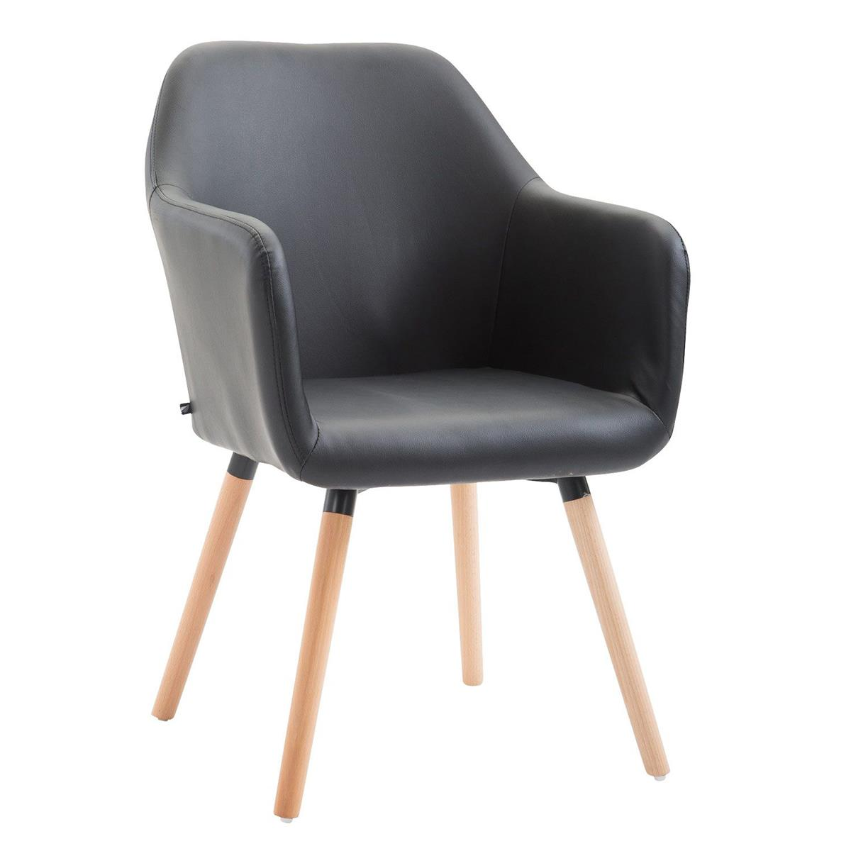 Sedia per sala d 39 attesa niebla pelle design sofisticato for Sedia per sala d attesa