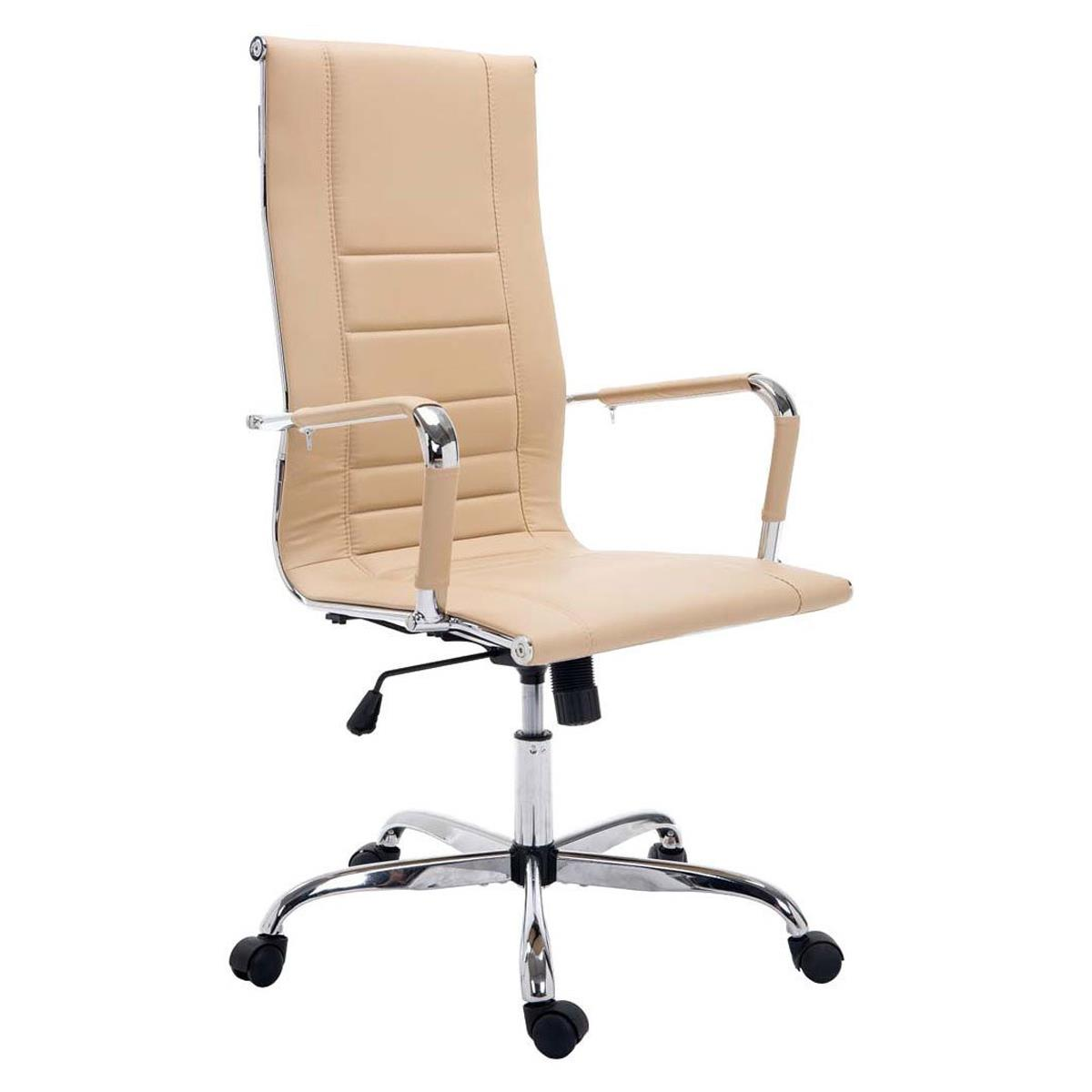 Sedia per ufficio kola struttura in metallo cromato for Sedia design ufficio