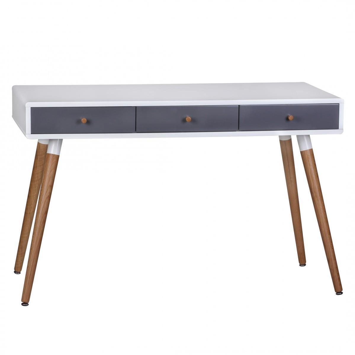 Tavolo per computer robert superficie e gambe in legno - Tavolo per computer ...