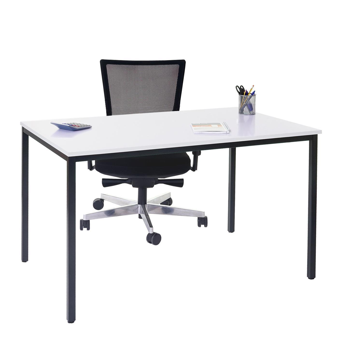 tavolo per ufficio demi struttura in metallo e ripiano in