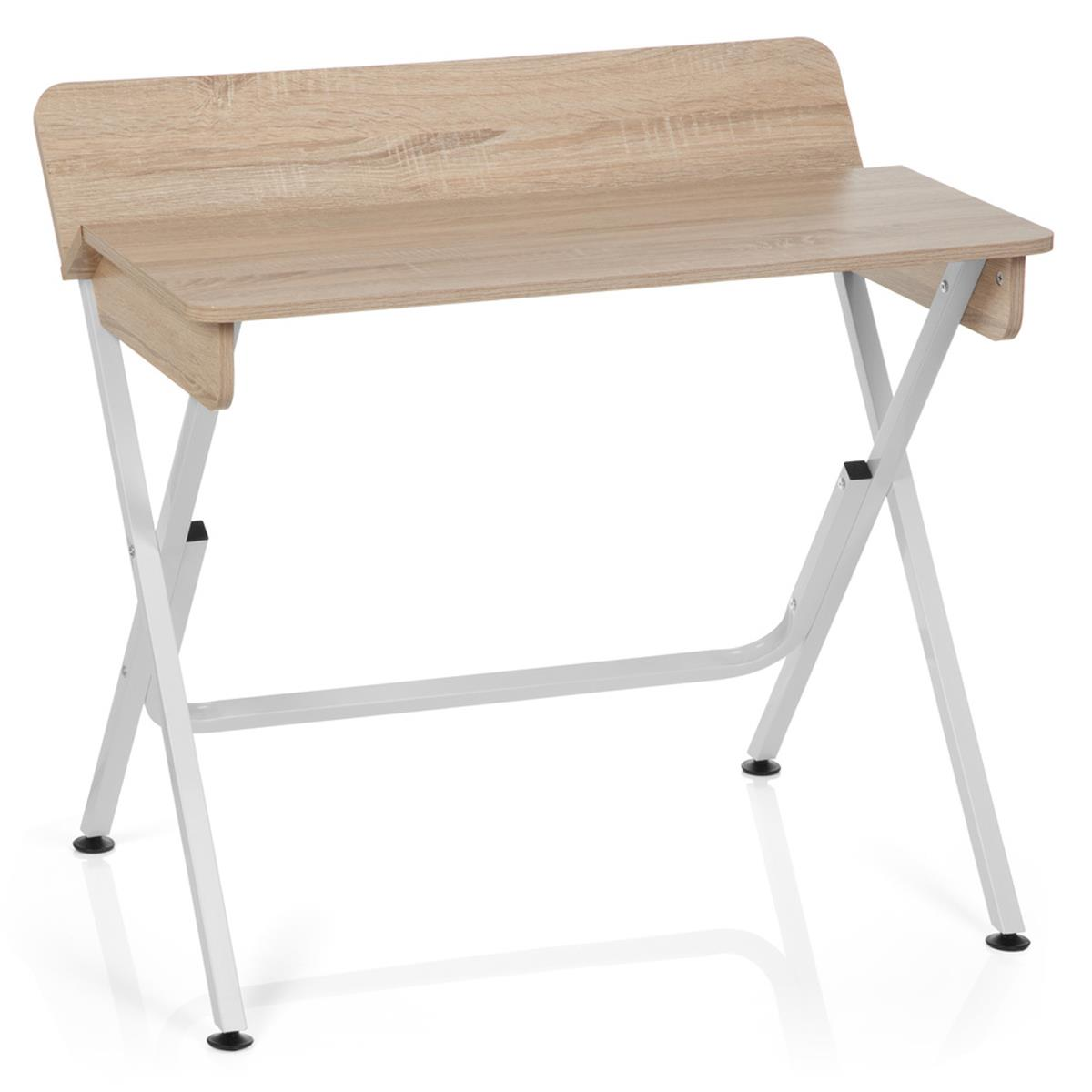 Tavolo / scrittoio compatto IRINA, misure 90x64x74, in Metallo e ...