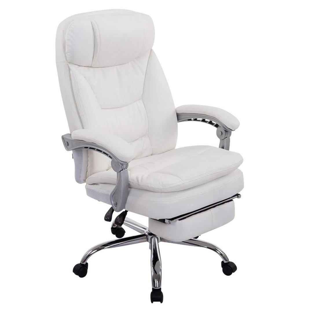 Poltrona ufficio AUSTIN PELLE, reclinabile, resistente fino a ...
