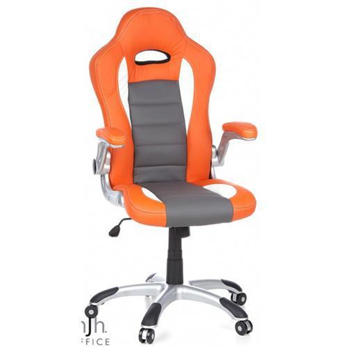 Sedile Sportivo Da Ufficio.Sedia Per Ufficio E Pc Montecarlo Sportiva 8 Ore Arancione