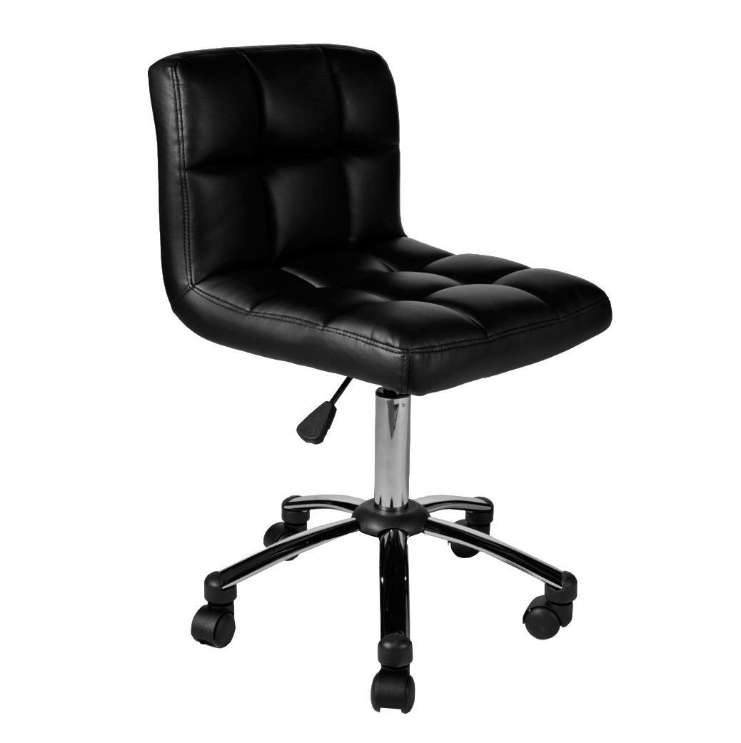 Sgabello sedia da ufficio luke imbottitura con fodera for Sedia ufficio xxl