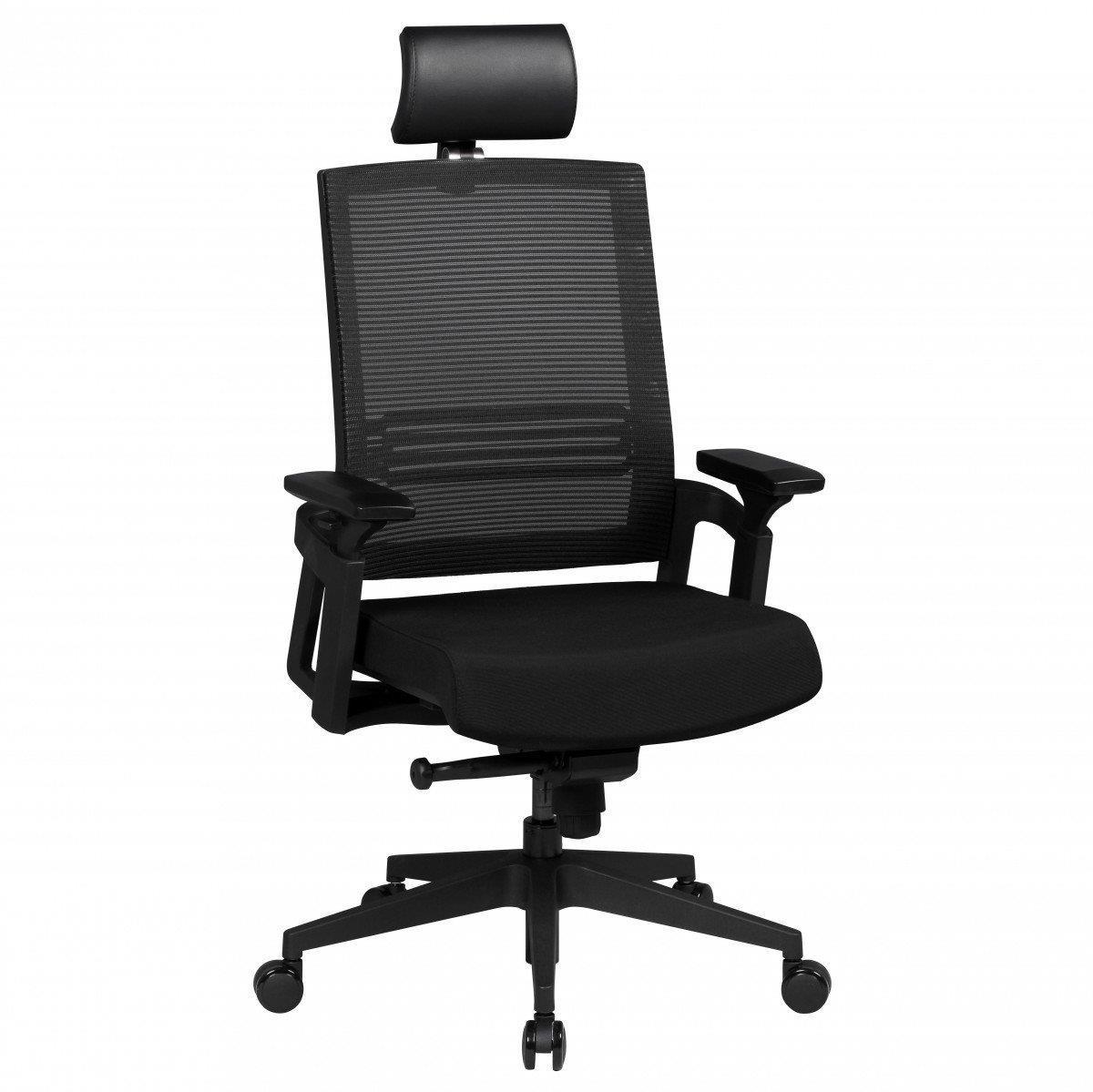 Sedia ergonomica SIRO PRO, regolabile, con poggiatesta e ...
