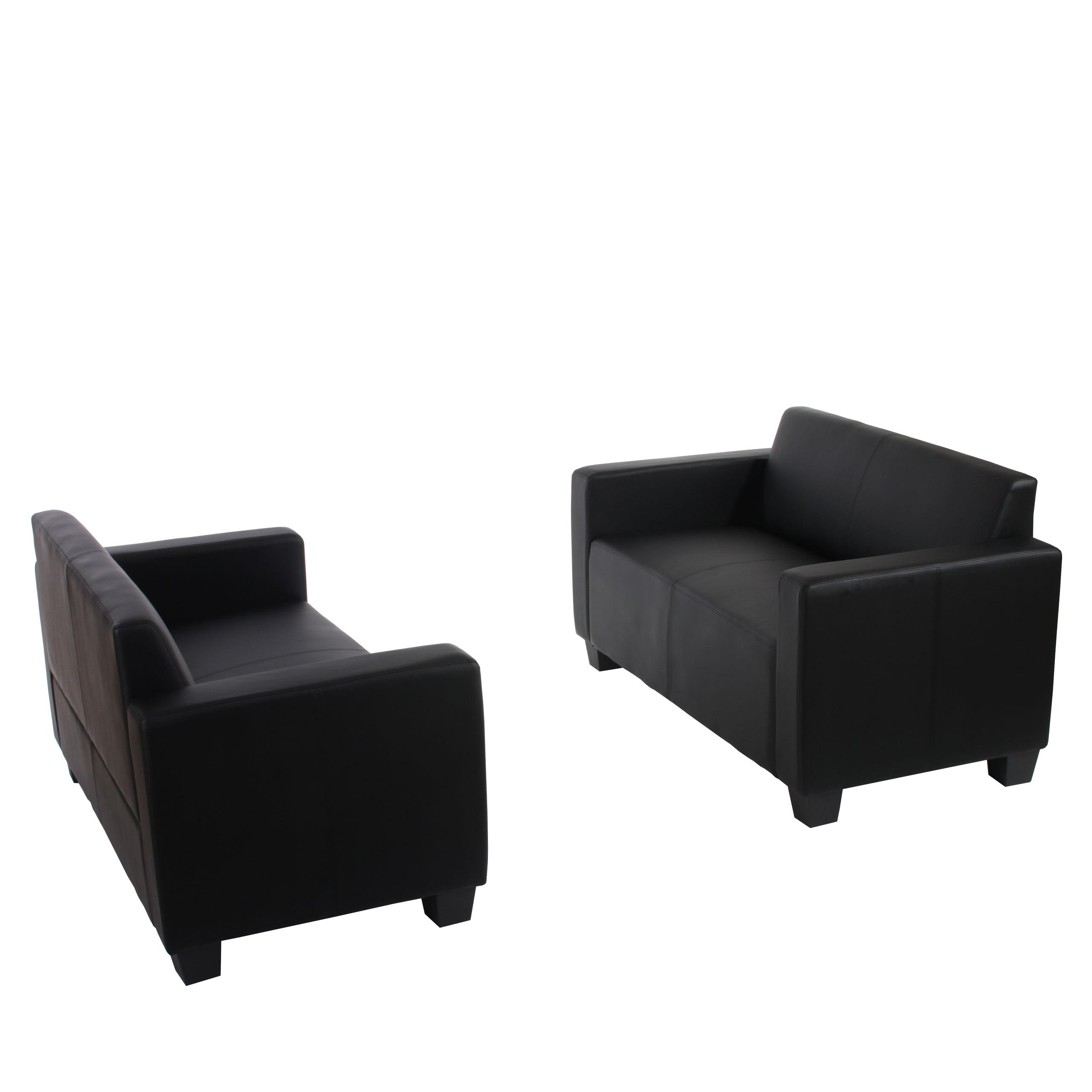 Set due divani a 2 posti RODDY, design moderno e comoda imbottitura ...