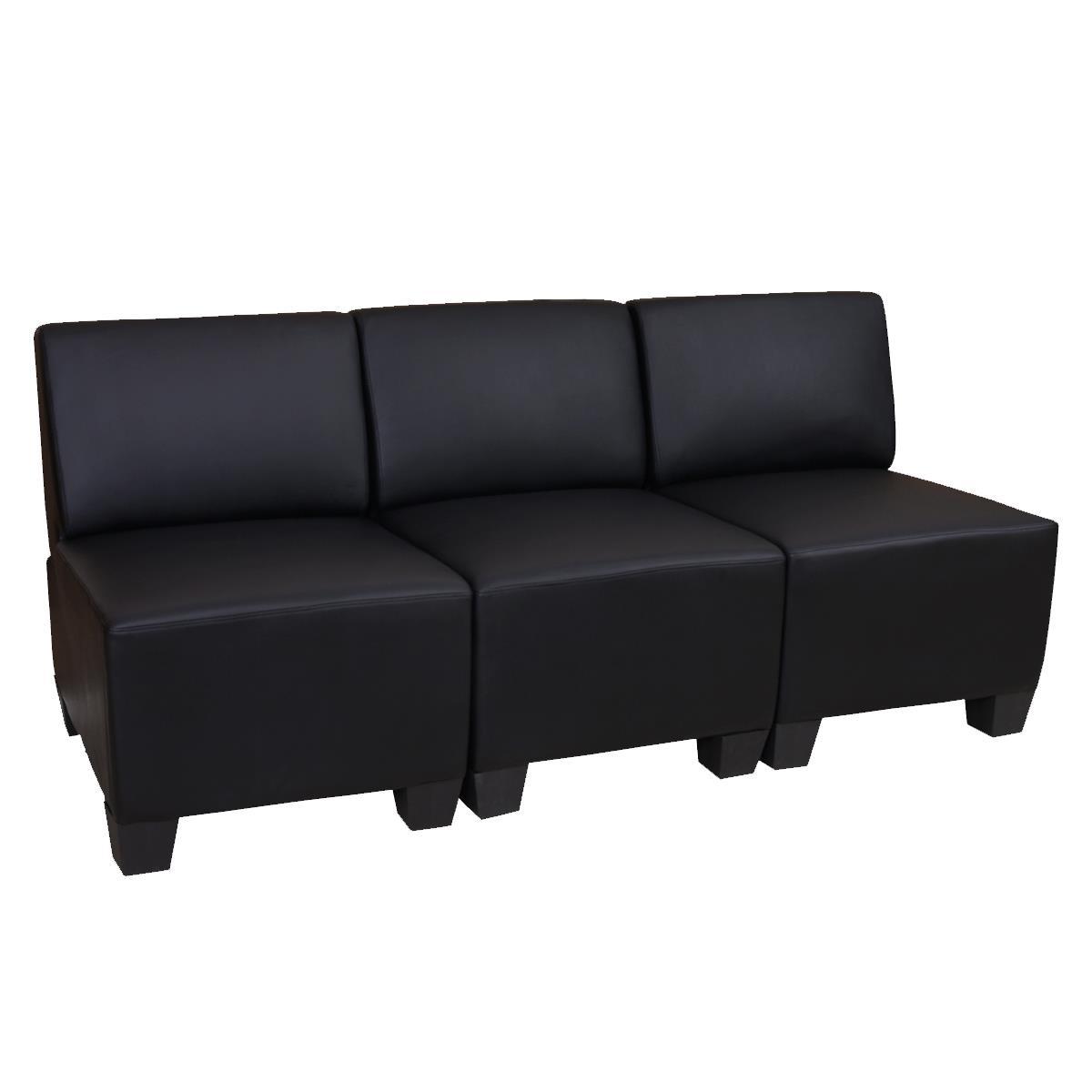 Divano modulare 3 posti lyon design moderno comodo in - Divano modulare ...