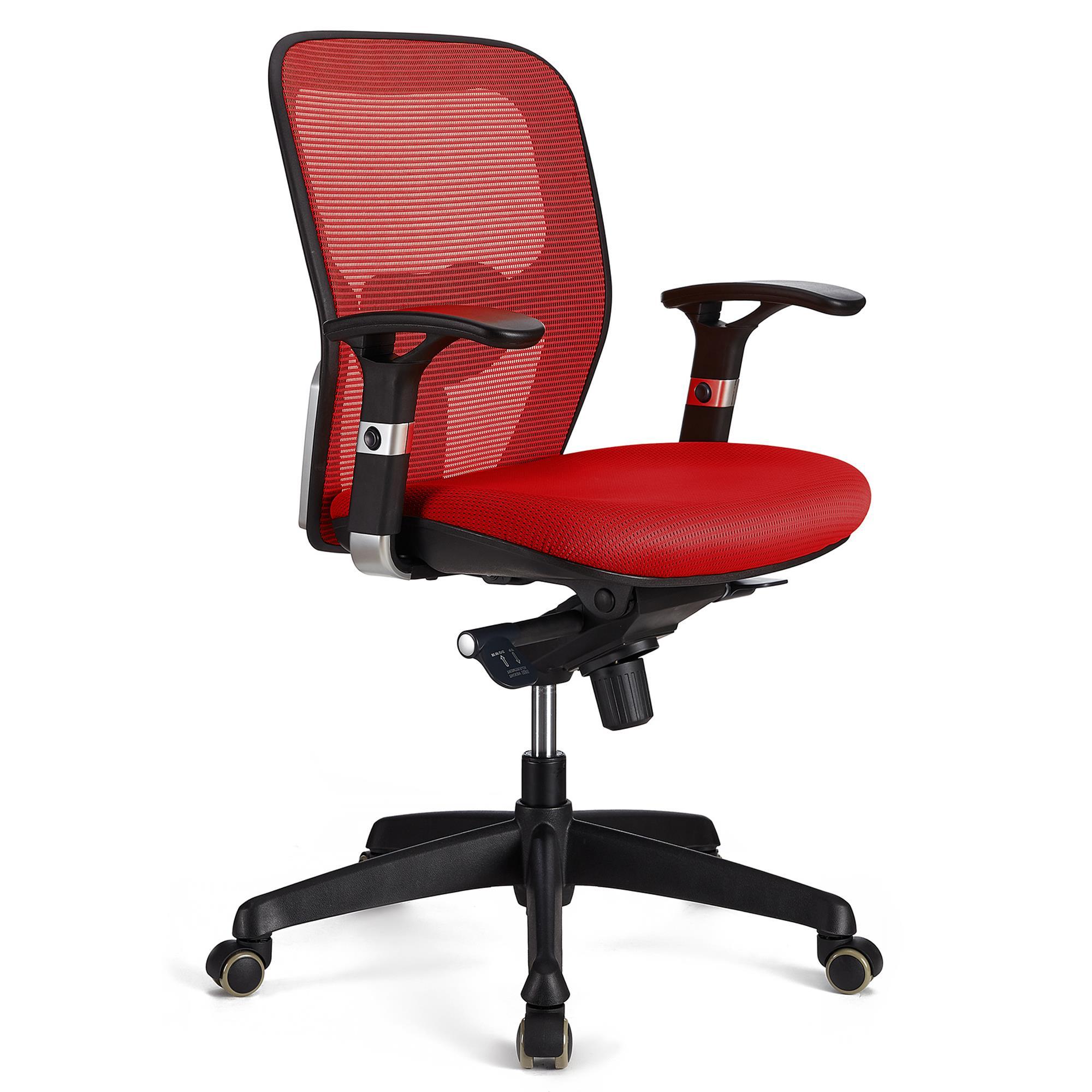 Sedia ergonomica FELIX, sostegno lombare regolabile ...