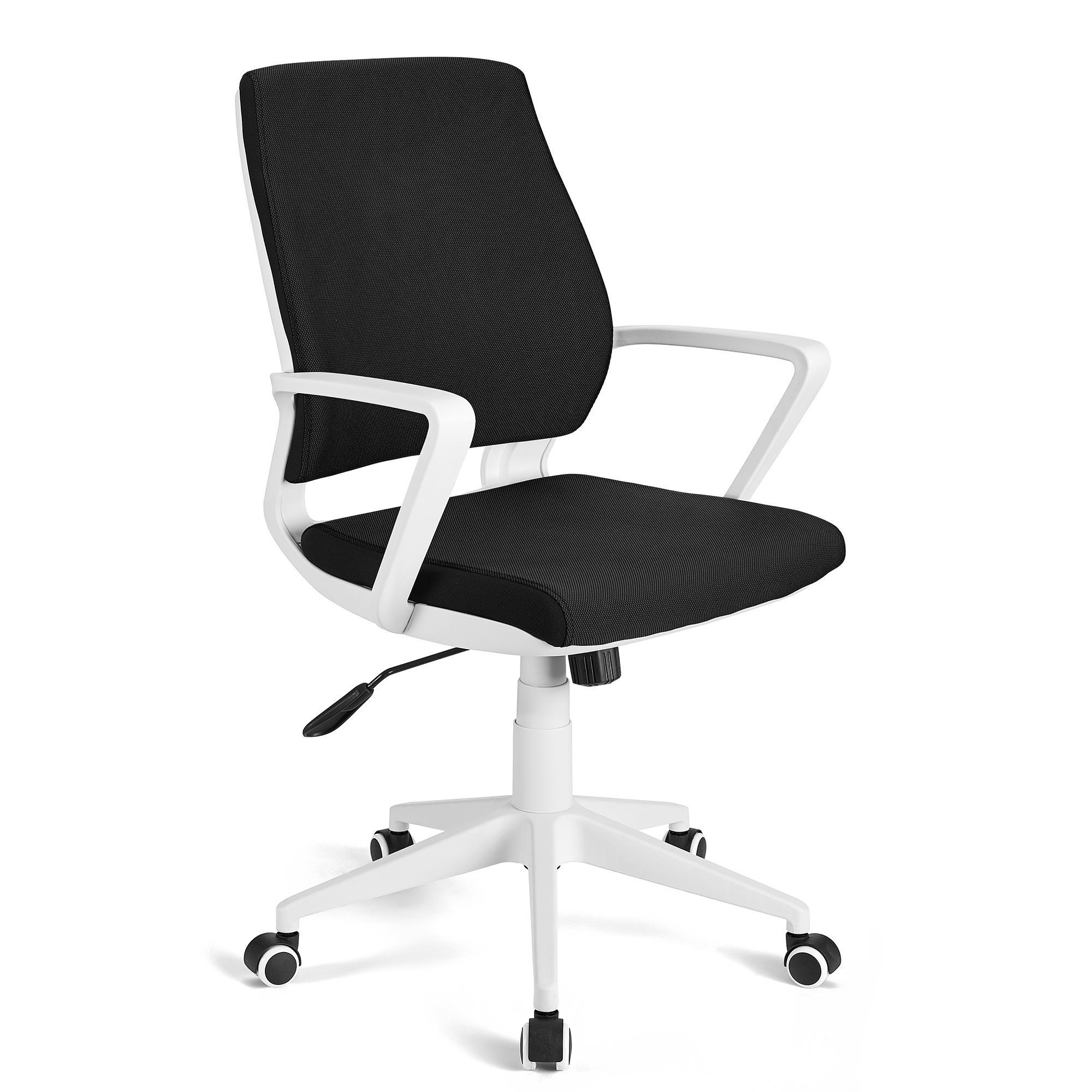 Sedia da ufficio irma basculante struttura bianca for Sedia ufficio xxl