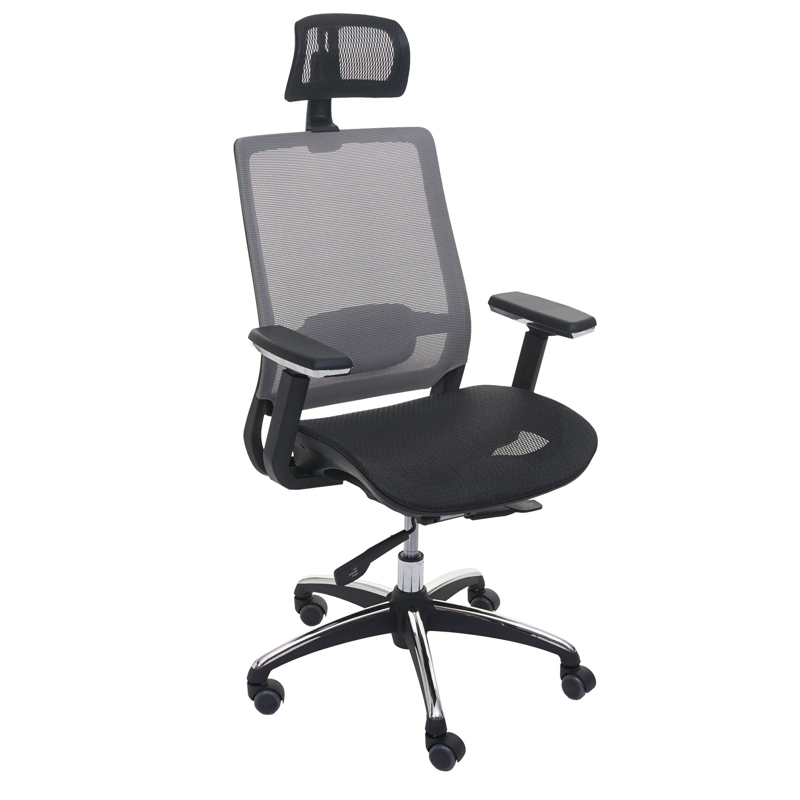 Sedia ufficio ergonomica nutal completamente regolabile for Sedia ufficio xxl