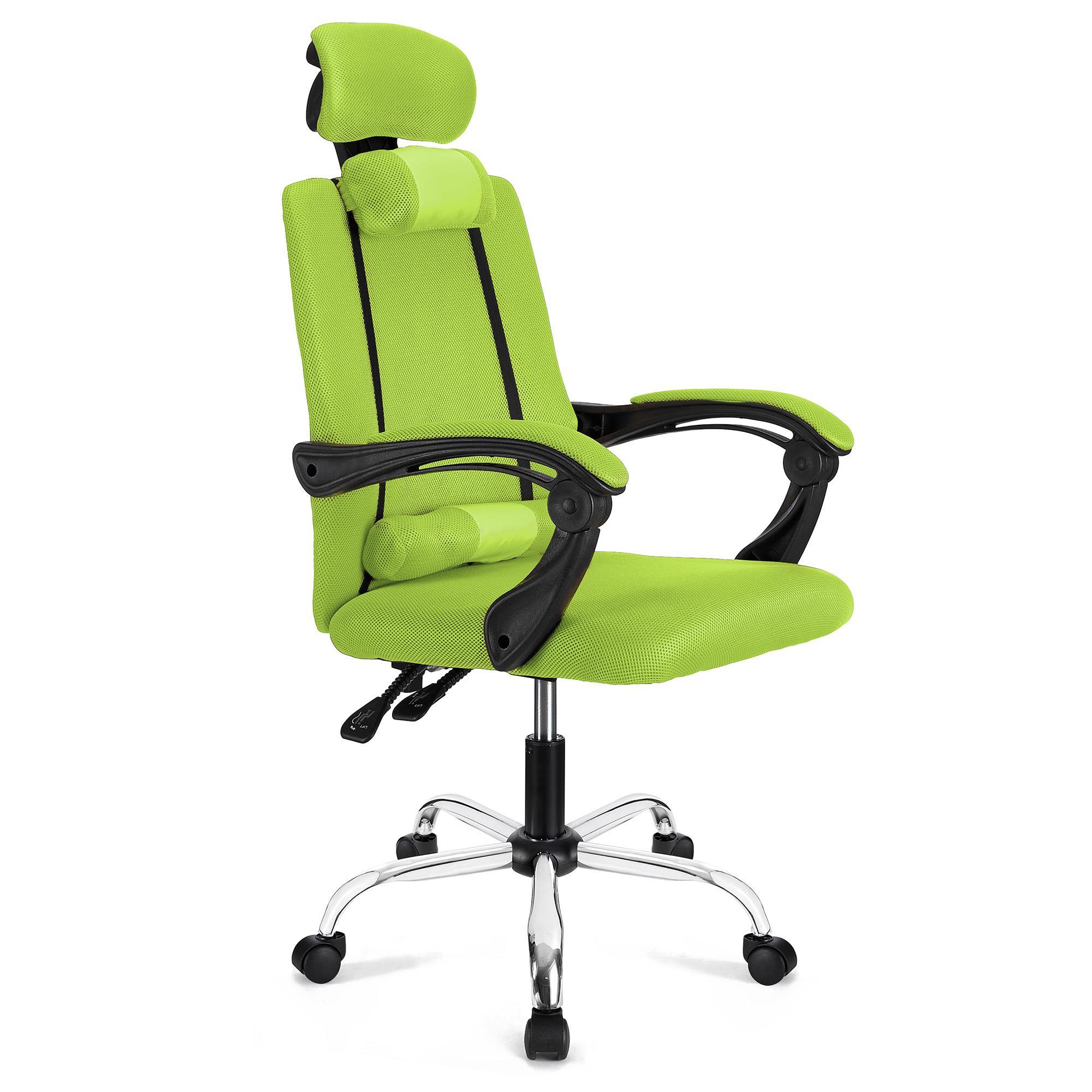Sedia ergonomica FABIO, Reclinabile, con Cuscini, In Rete ...
