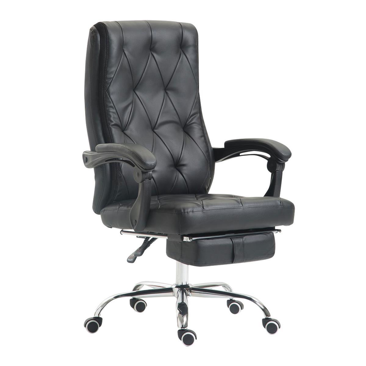 Poltrona ufficio benety stile chester con poggiapiedi - Poggiapiedi ufficio ...