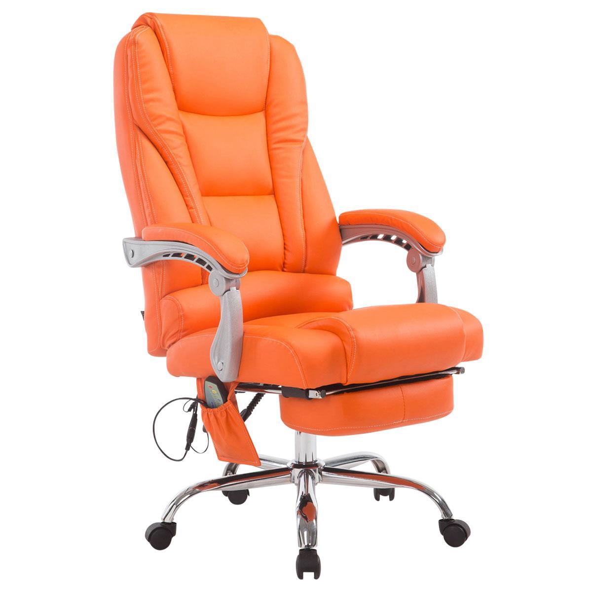 Poltrona da ufficio comodity massage spessa imbottitura for Poltrona ufficio con poggiapiedi