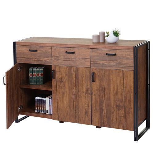 Armadio per ufficio olaf stile industriale cm 150x100x40 for Mobili ufficio stock