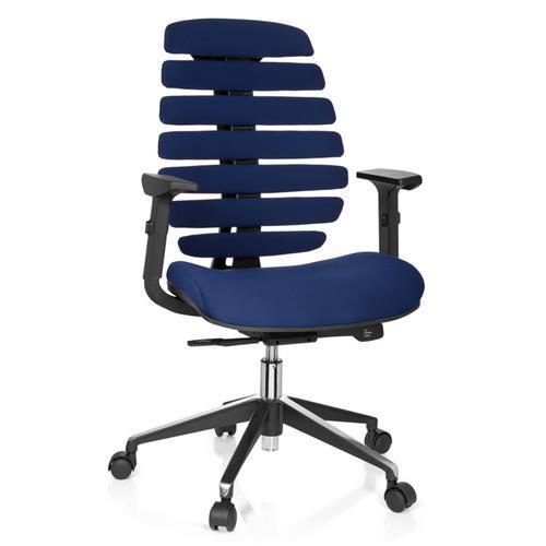 Sedia ergonomica ergoback design innovativo in color blu for Sedia ergonomica