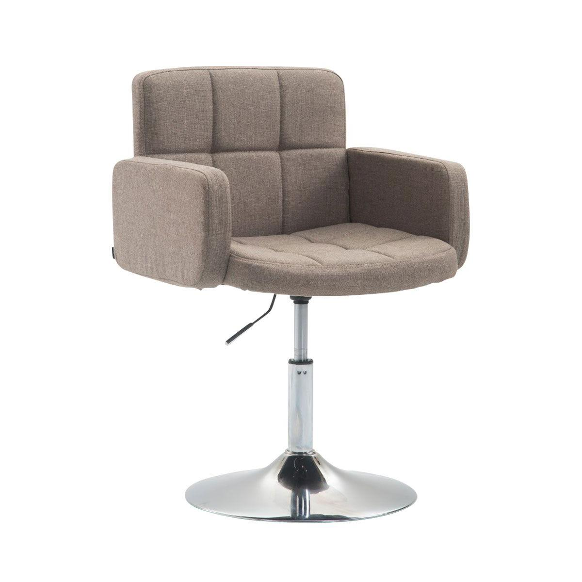 Sedia di design nadir comoda imbottitura girevole in for Sedia design marrone