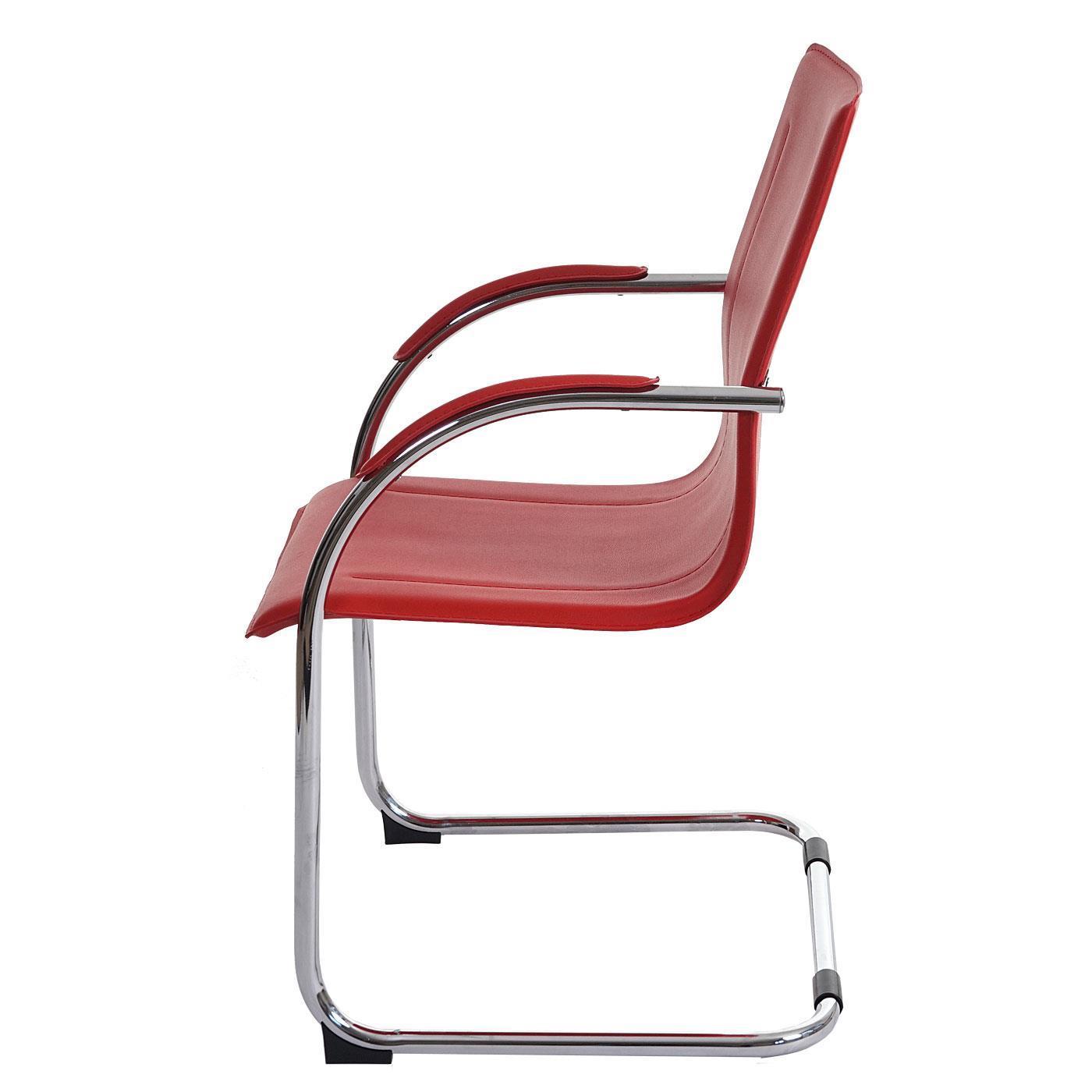 Lotto di 2 sedie attesa zeus con telaio in metallo e for Sedie di pelle design