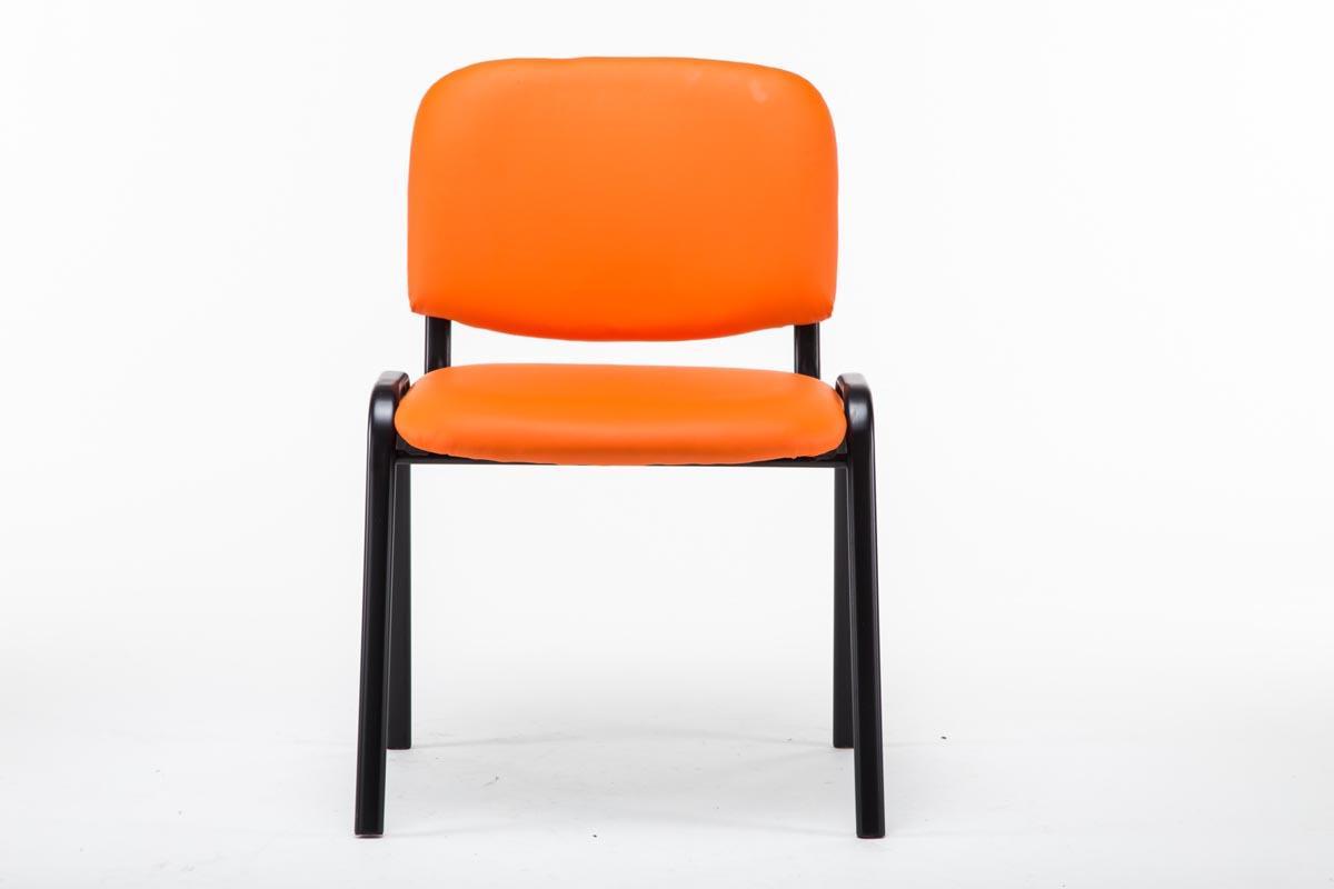 Sedia per sala conferenze MOBY IN PELLE, economica e ...