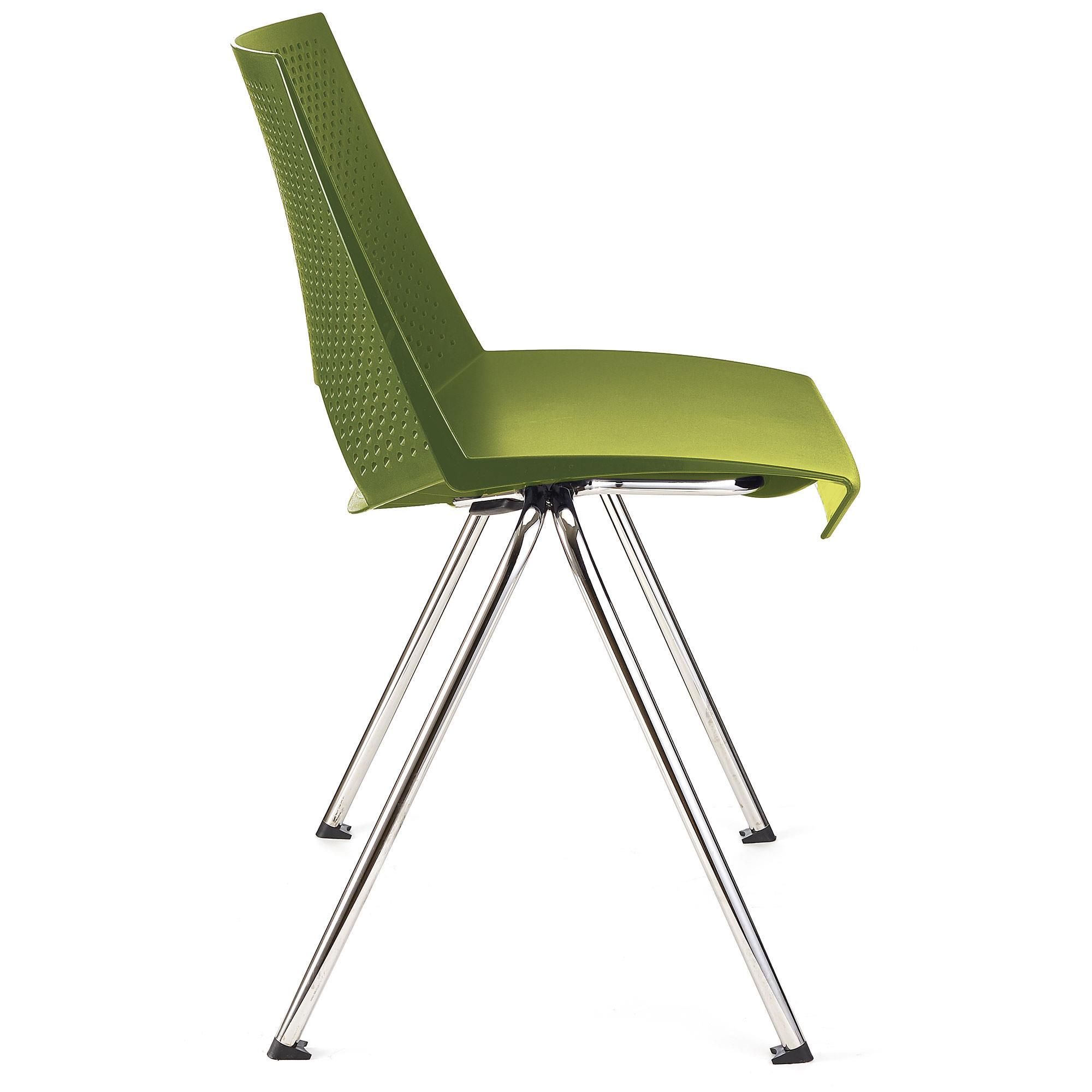 Sedia per sala d 39 attesa enzo colore verde sedia per for Sedia per sala d attesa