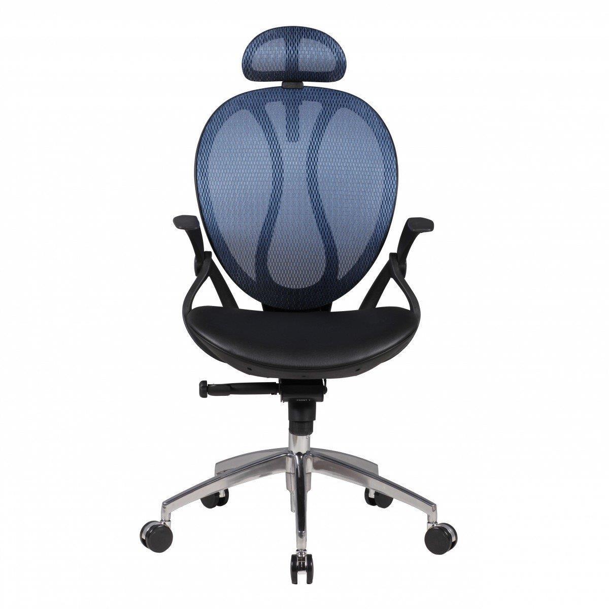 Sedia ergonomica telma pro con poggiatesta regolabile e for Sedia ergonomica