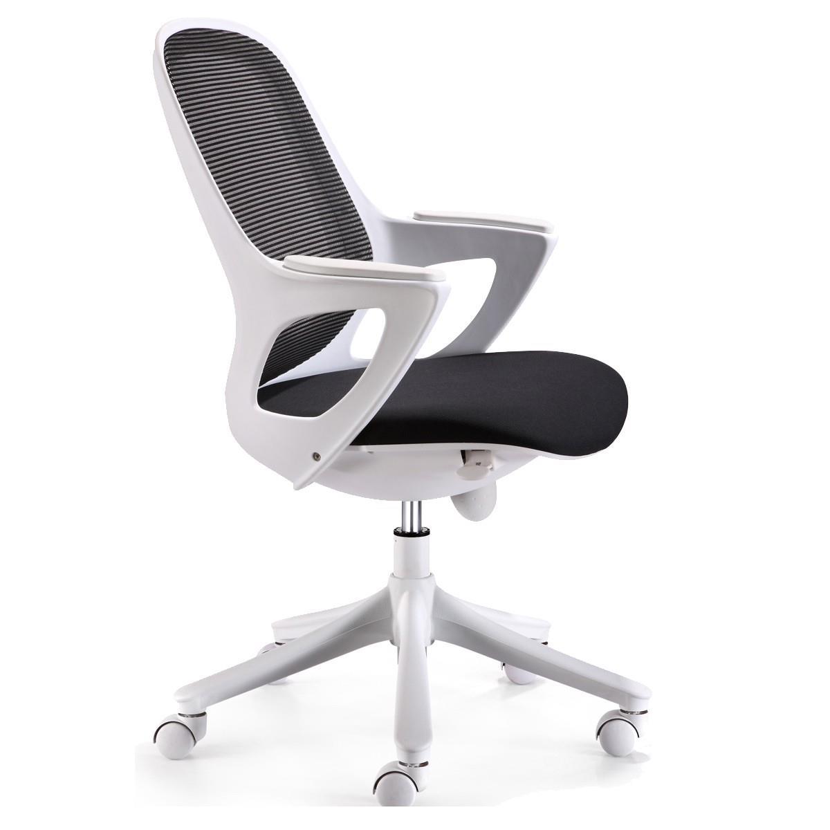 Sedia per ufficio VIRGO, ergonomica, sedile imbottito ...