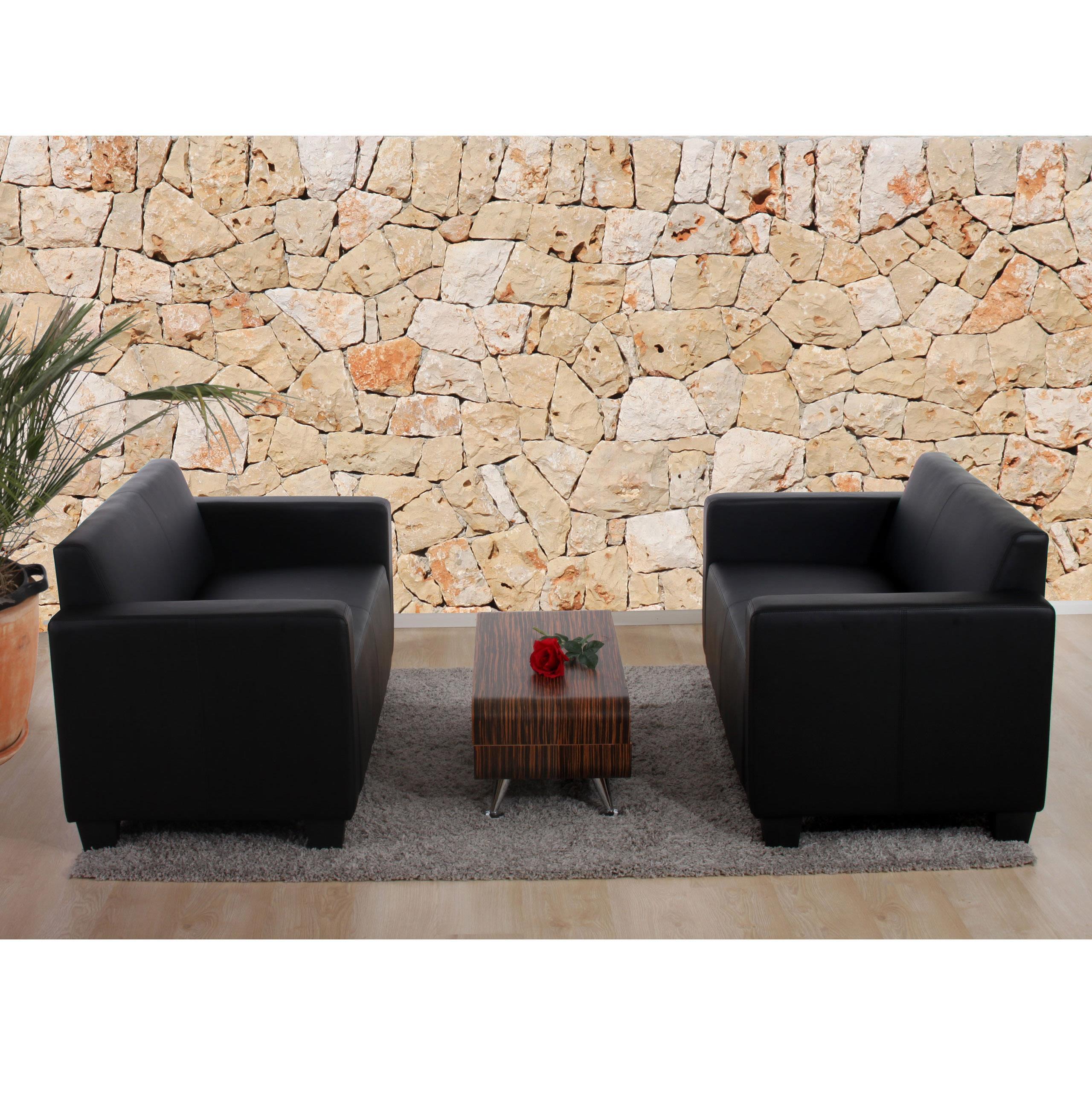 Set due divani a 2 posti roddy design moderno e comoda for Divani a 2 posti