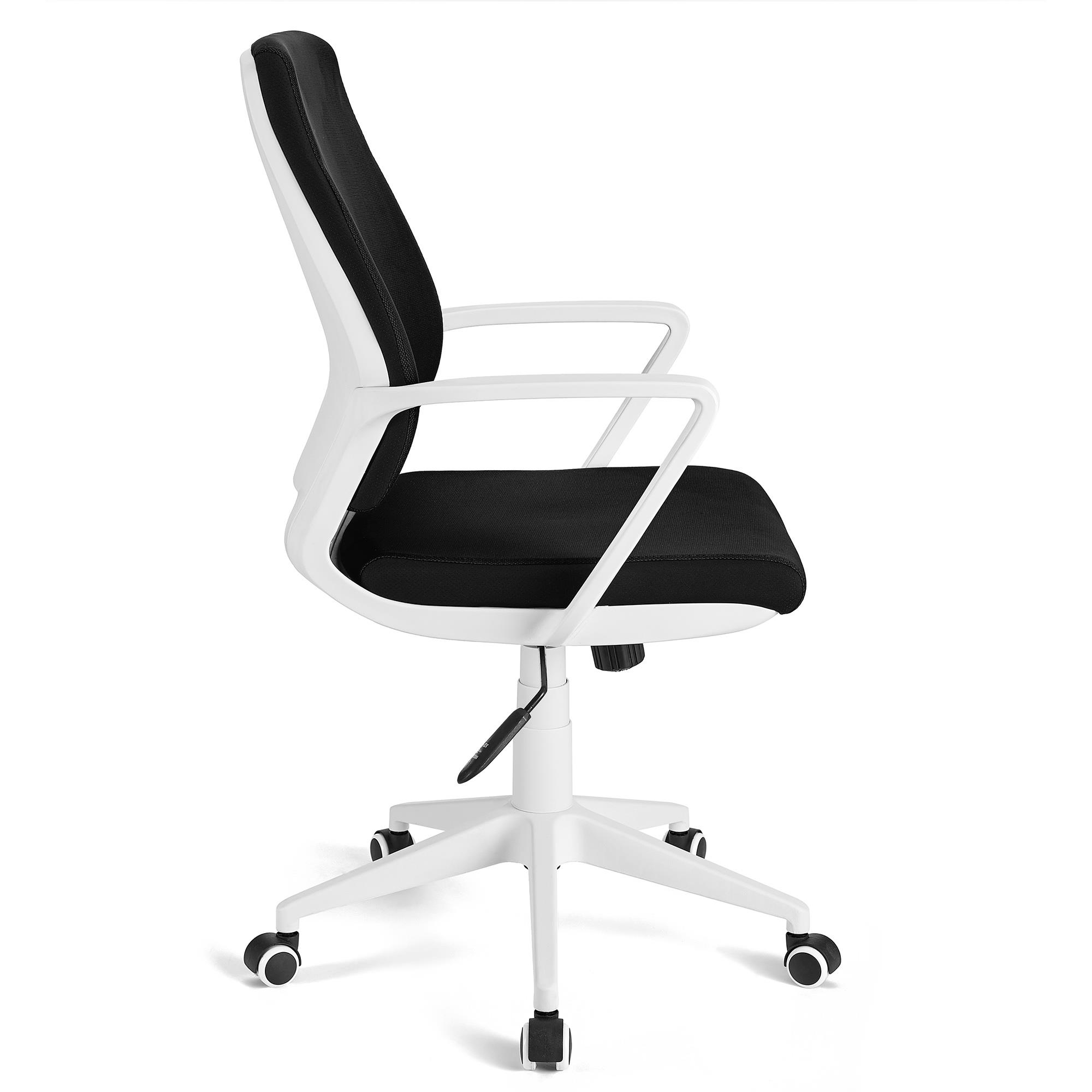 Sedia da ufficio irma basculante struttura bianca for Sedia design bianca