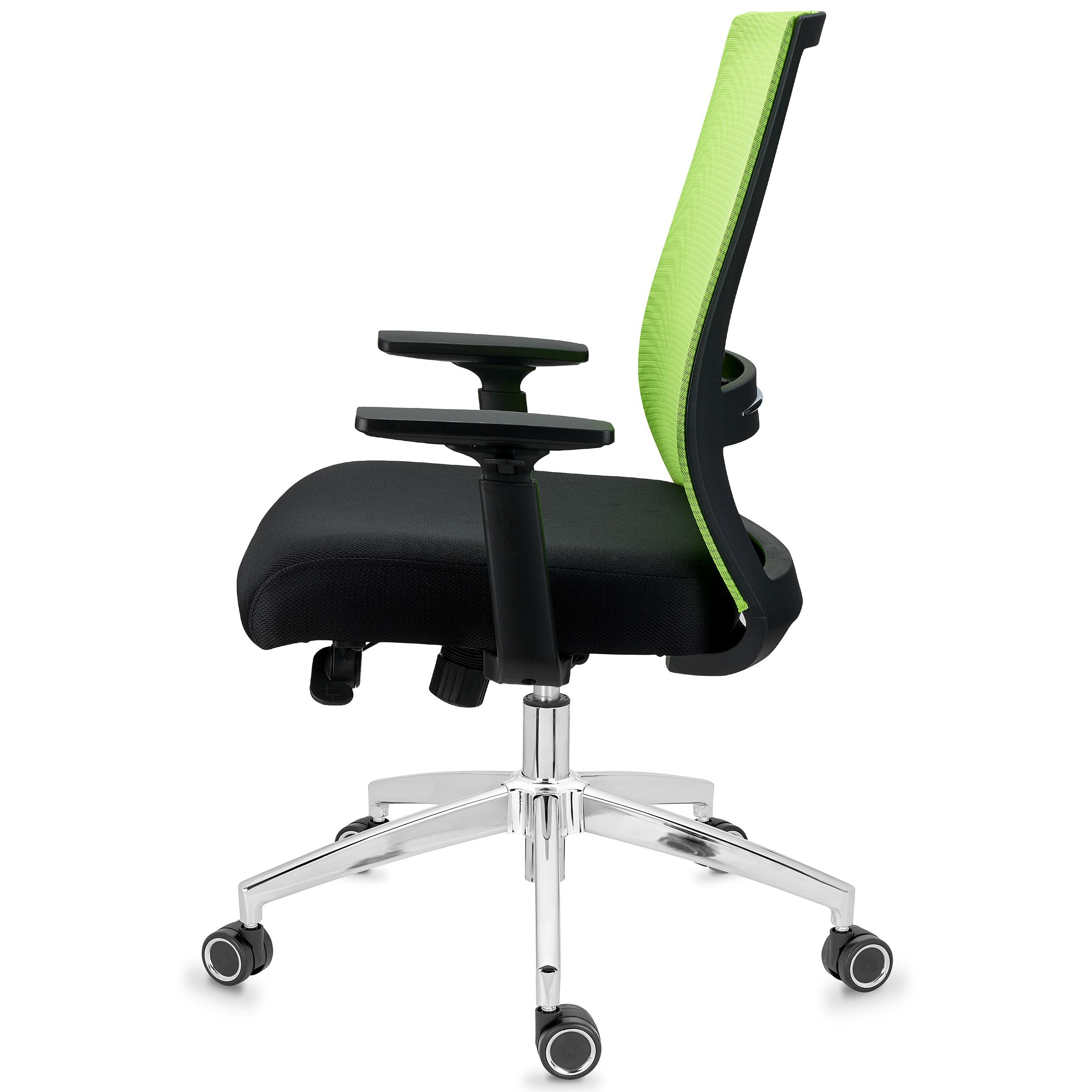 Sedia da Ufficio NIXON, Design Innovativo, Rete e Tessuto ...