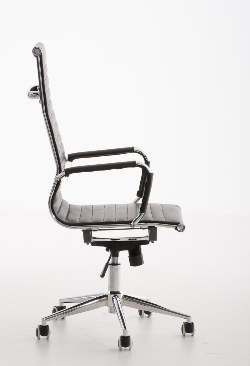 Sedia per ufficio roma design elegante con struttura in for Sedie ufficio roma
