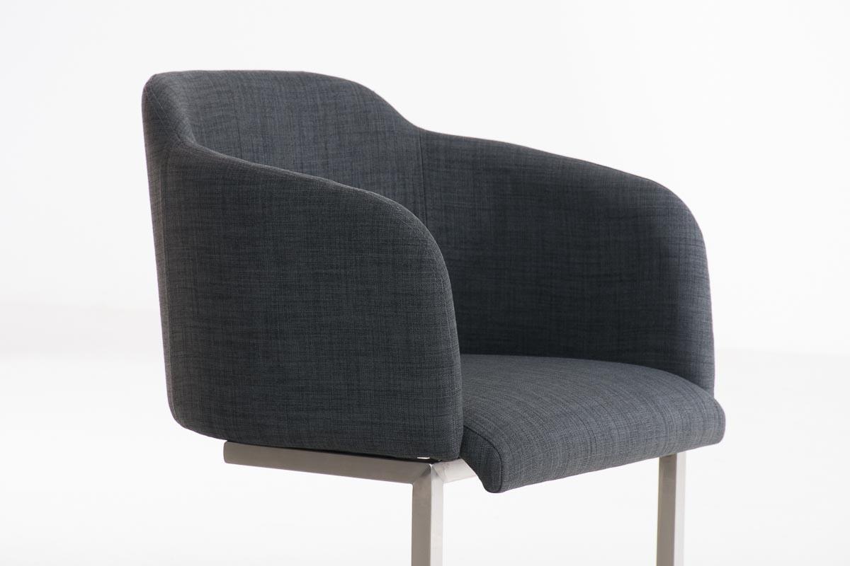 Poltroncina di design tokio tessuto struttura in acciaio seduta