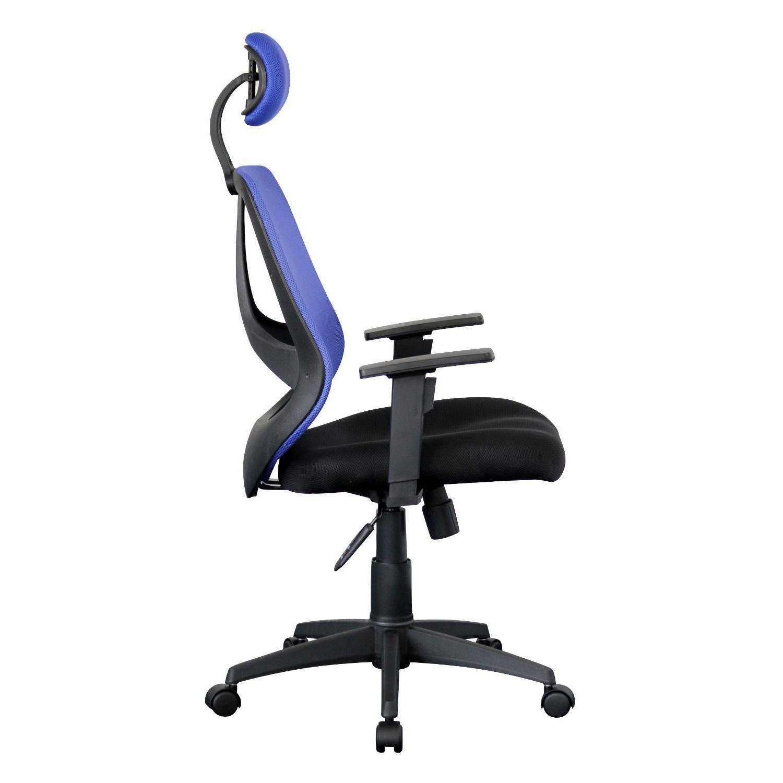Sedia ergonomica drake con poggiatesta e braccioli for Sedia ergonomica