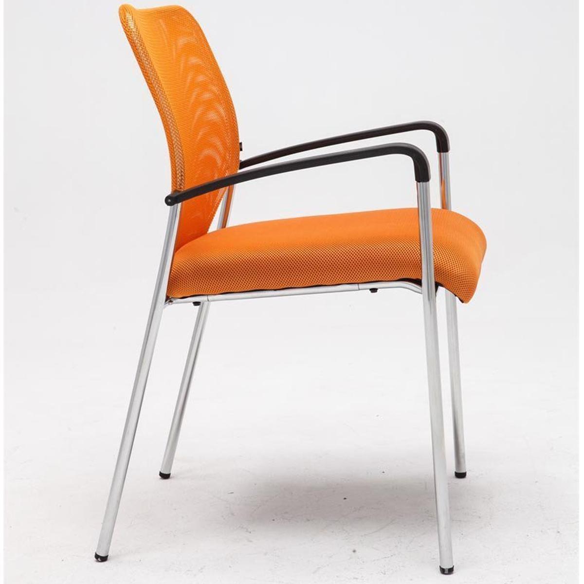 Sedie Per Sala Dattesa.Sedia Sala D Attesa Jamaica Tessuto A Rete Arancione