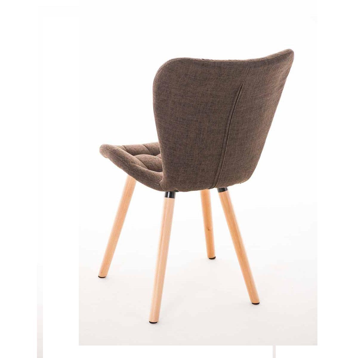Sedia per sala attesa e ospiti elgar elegante legno for Sedia per sala d attesa