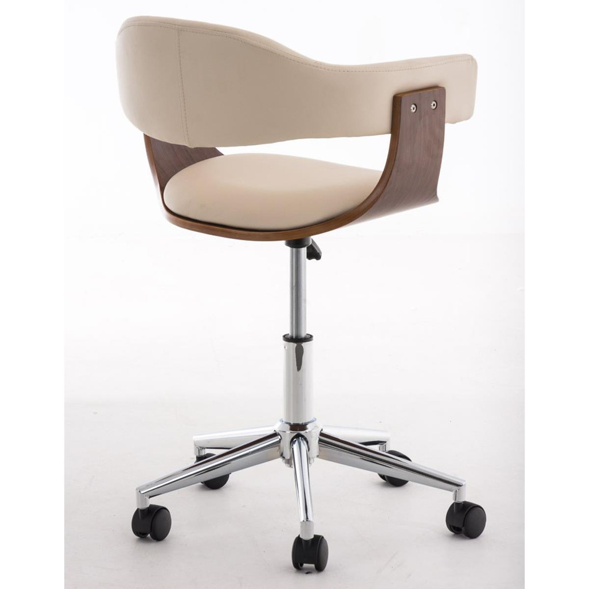 sedia di design labra con struttura in legno e base in