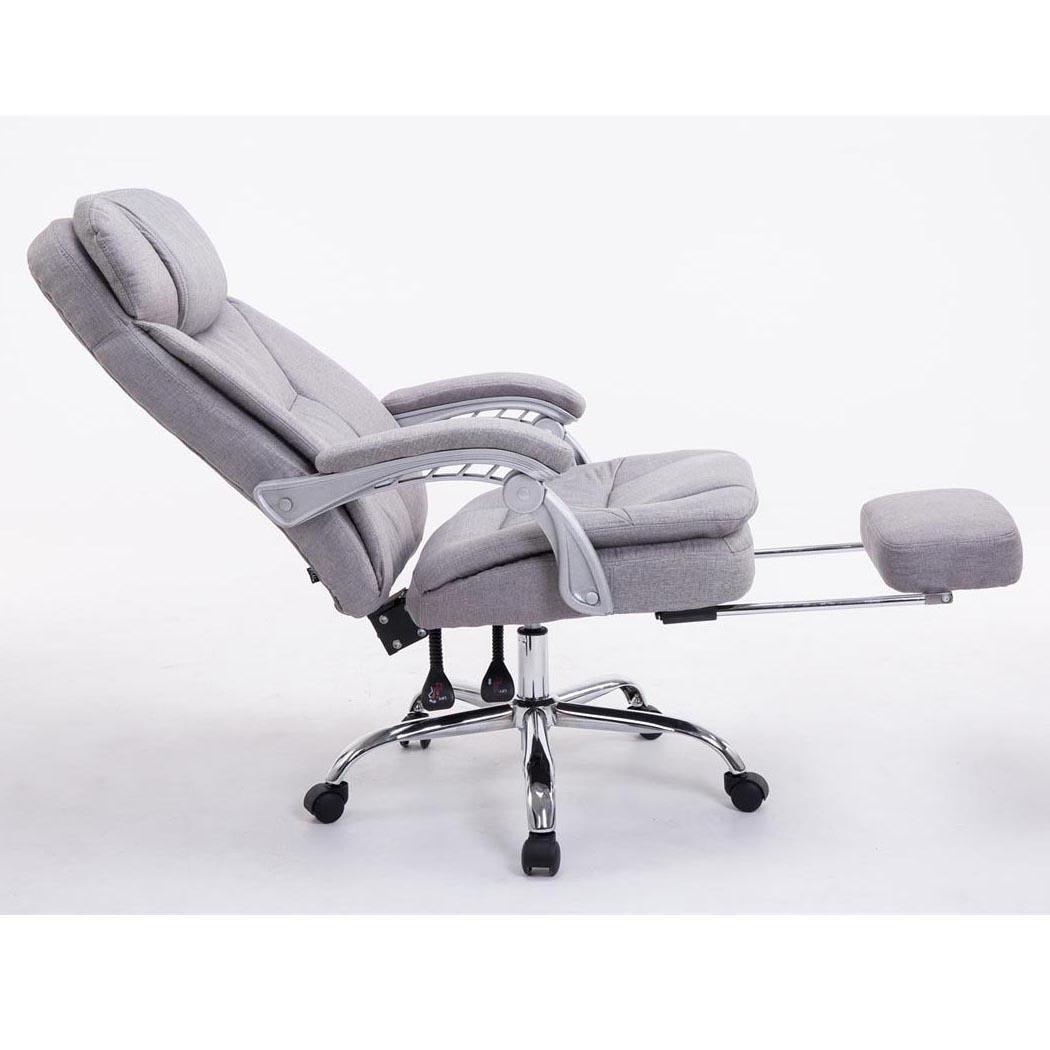 Poltrona ufficio austin reclinabile resistente fino a for Poltrona ufficio con poggiapiedi