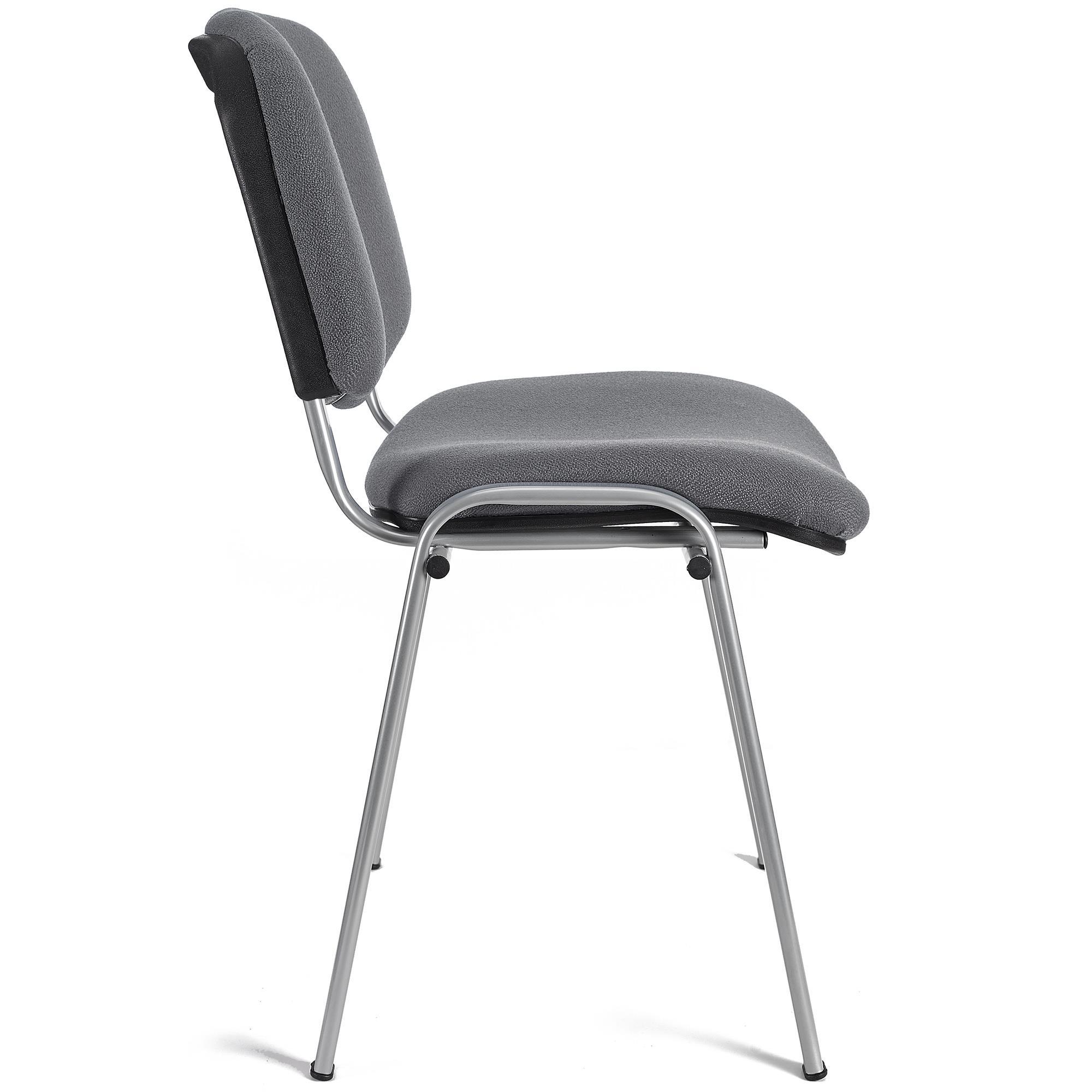 Lotto di 6 sedie per sala conferenze MOBY BASE, grigio ...