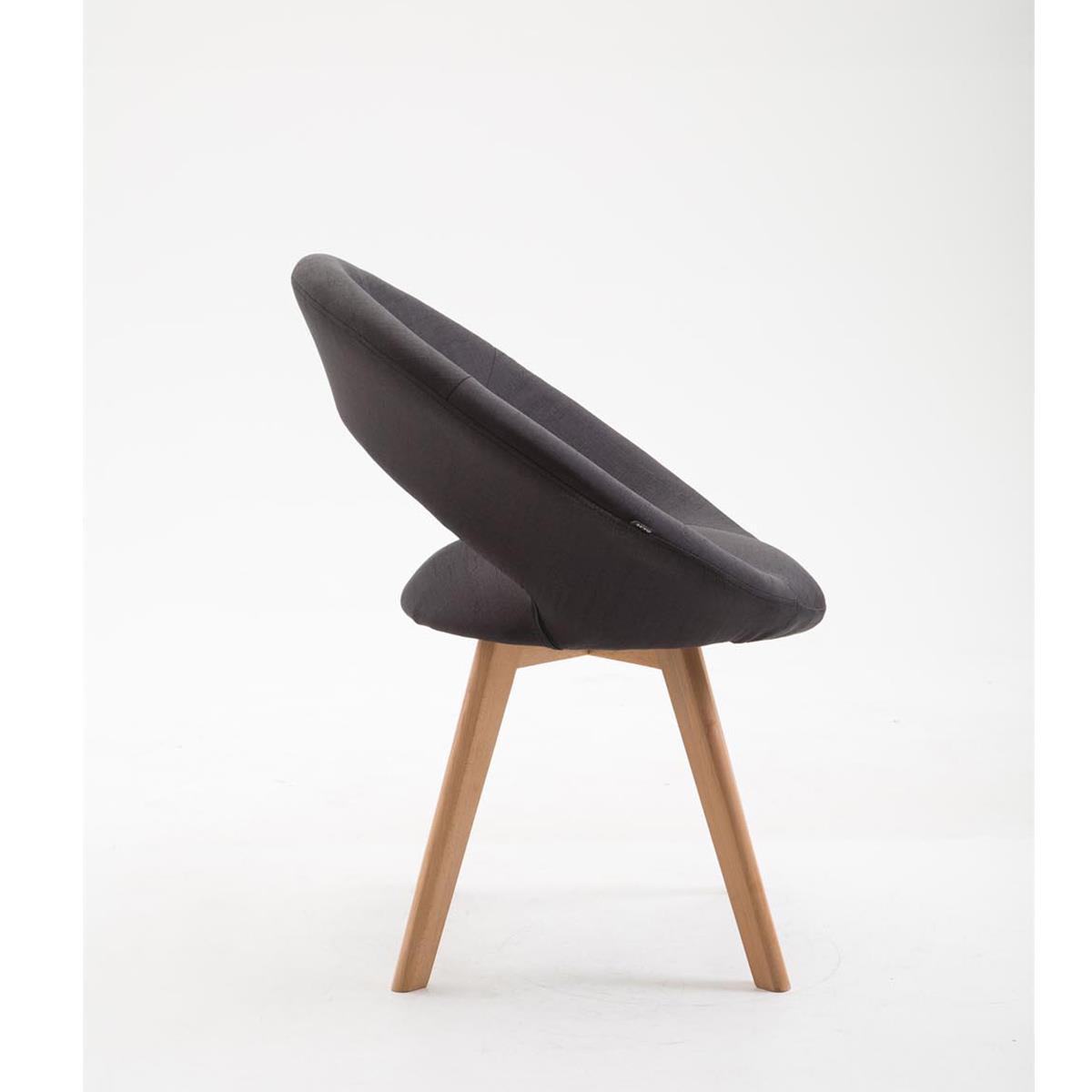 Sedia per ospiti e riunioni timmy tessuto design for Sedia design originale