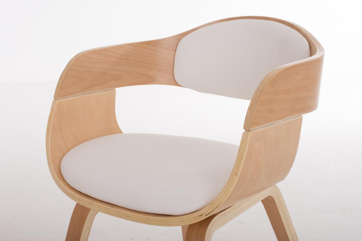 Sedia per sala attesa riunioni butan esclusivo design in legno