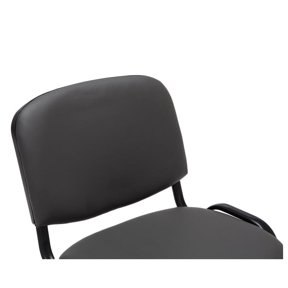 Lotto di 6 sedie conferenza moby in pelle economiche e for Sedie in pelle prezzi