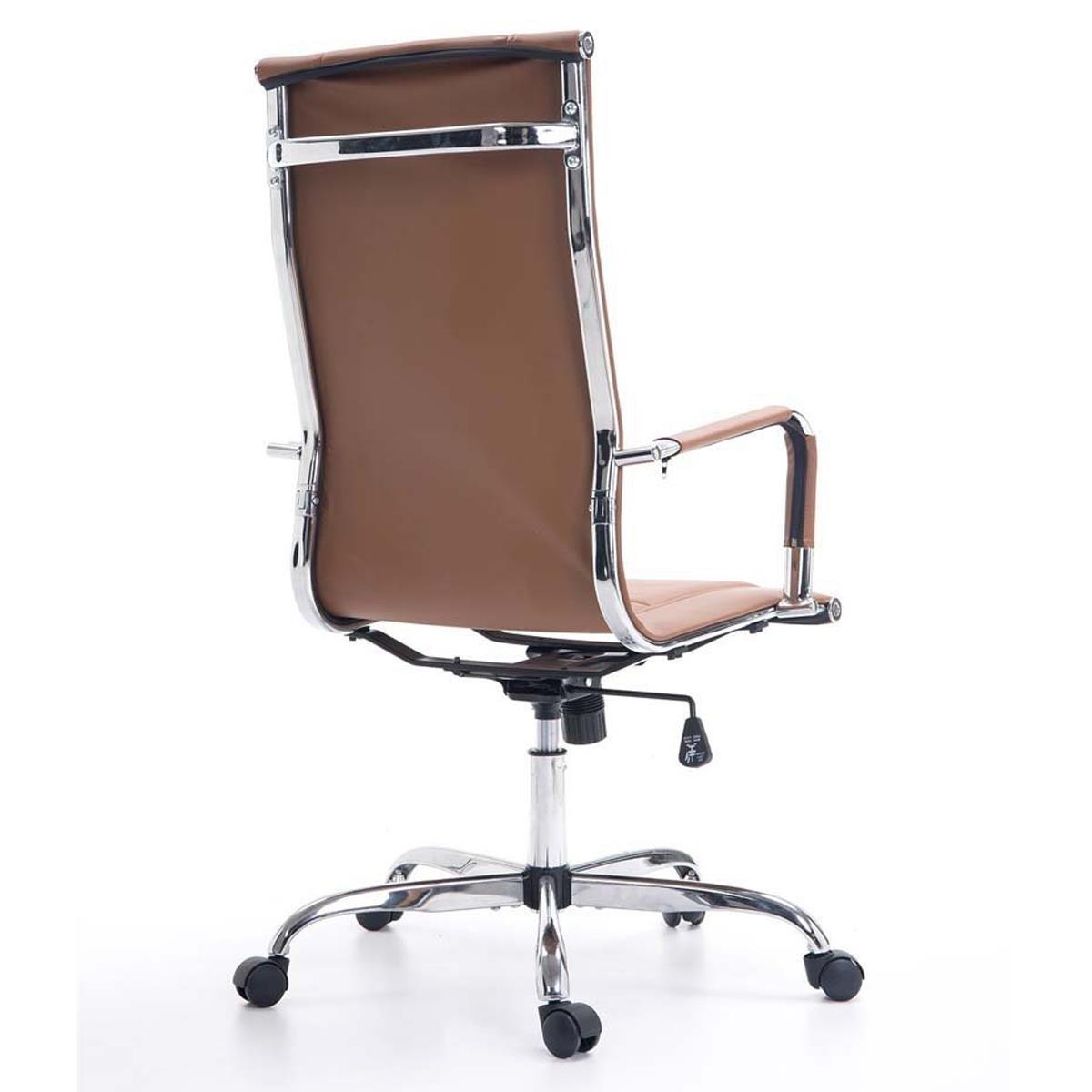 Sedia per ufficio KOLA, struttura in metallo cromato ...