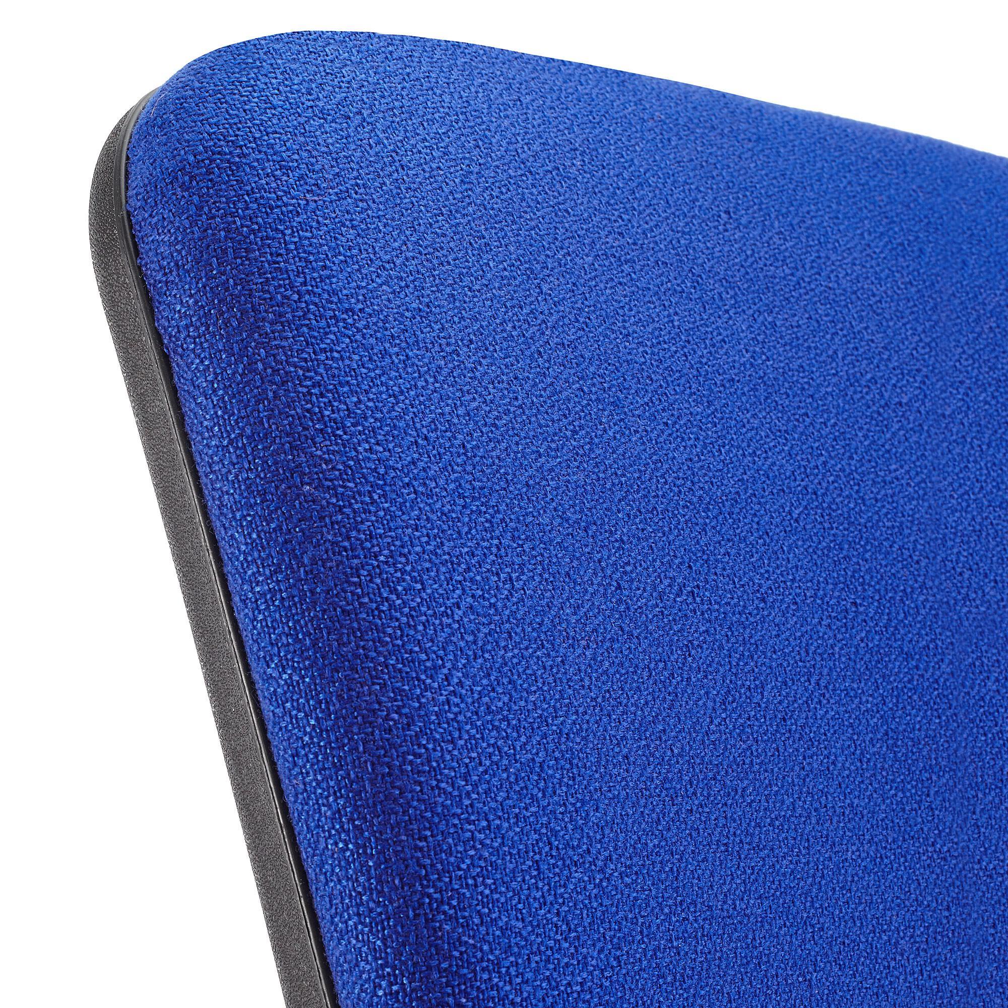 Sedia da ufficio calipso senza braccioli schienale for Ufficio blu